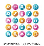 friendly relationship flat... | Shutterstock .eps vector #1649749822
