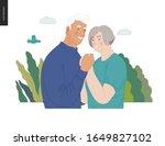 medical insurance  senior... | Shutterstock .eps vector #1649827102