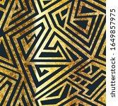 grunge geometric vector...   Shutterstock .eps vector #1649857975