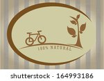 eco design over lineal ...   Shutterstock .eps vector #164993186