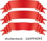 red tape | Shutterstock .eps vector #164994095