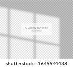 shadow overlay effect. natural... | Shutterstock .eps vector #1649944438