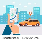urban landscape background with ... | Shutterstock .eps vector #1649954398