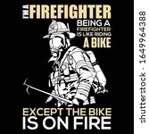 The Rescue Firefighter T Shirt