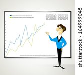 business manager project vector | Shutterstock .eps vector #164999045
