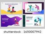 children enjoying leisure and... | Shutterstock .eps vector #1650007942