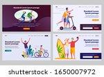 family outdoor activities set.... | Shutterstock .eps vector #1650007972