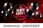 black friday sale horizontal... | Shutterstock .eps vector #1650152605