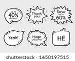 comic chat bubbles. save up to...   Shutterstock .eps vector #1650197515