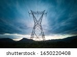 Electricity Tower Silhouette...