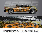 truck decal graphic wrap vector ... | Shutterstock .eps vector #1650301162