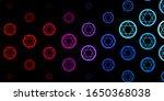 dark blue  red vector texture...   Shutterstock .eps vector #1650368038