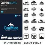 coal mine with coal cart  mine...   Shutterstock .eps vector #1650514825