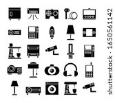 electronic device and appliance ... | Shutterstock .eps vector #1650561142