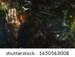 Portrait Of Fairy Woman At...