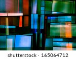 Abstract Church Windows