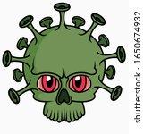 concept of dangerous... | Shutterstock .eps vector #1650674932