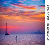 Ibiza Sunset Sun View From...