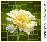 vector angular mosaic with... | Shutterstock .eps vector #1650750745