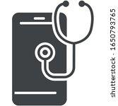 medical app icon on white... | Shutterstock .eps vector #1650793765