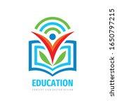 education logo template design... | Shutterstock .eps vector #1650797215