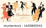 invitation banner for a retro...   Shutterstock .eps vector #1650800542