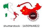 coronavirus outbreak spreading... | Shutterstock .eps vector #1650964822