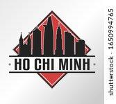 ho chi minh vietnam skyline... | Shutterstock .eps vector #1650994765