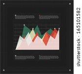 modern infographics diagram... | Shutterstock .eps vector #165101582