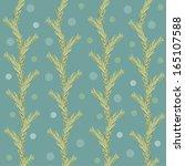 decorative pattern | Shutterstock .eps vector #165107588