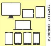 computer technology screen set