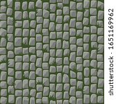 seamless pattern of cobblestone ...