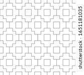 seamless pattern. folk image.... | Shutterstock .eps vector #1651181035