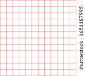 white graph paper with red... | Shutterstock .eps vector #1651187995
