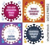 coronavirus wuhan china 2x2... | Shutterstock .eps vector #1651198852