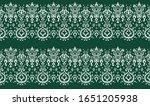 ikat geometric folklore... | Shutterstock .eps vector #1651205938