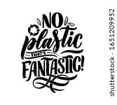 eco bag print for cloth design. ... | Shutterstock .eps vector #1651209952