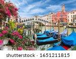Landscape With Gondola On Grand ...