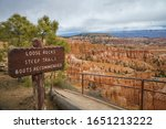 Hiking The Rim Trail In The...