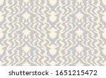 ikat border. geometric folk... | Shutterstock .eps vector #1651215472