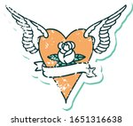iconic distressed sticker... | Shutterstock .eps vector #1651316638