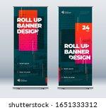 business roll up banner.... | Shutterstock .eps vector #1651333312