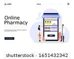 online pharmacy vector...