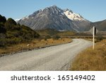 Gravel Road To Tasman Lake In...