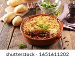 Baked Mashed Potato With Mince...