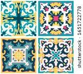 tile pattern vector seamless... | Shutterstock .eps vector #1651722778