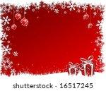 christmas background | Shutterstock .eps vector #16517245