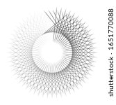 radiating  concentric circles... | Shutterstock .eps vector #1651770088