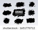 black and white grunge... | Shutterstock .eps vector #1651770712
