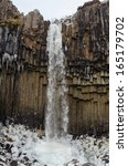 Svartifoss During Winter In...